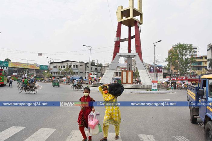 করোনা আতঙ্কে বদলে যাচ্ছে নারায়ণগঞ্জ
