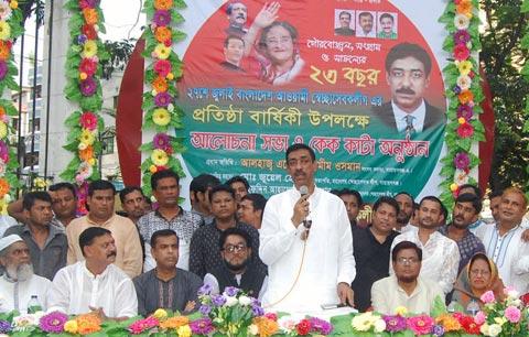 DND waterlogging: Shamim Osman threatens hunger strike