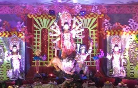 লক্ষ্মী নারায়ণ কটন মিলে পালিত হচ্ছে ৭৮তম শারদীয় দুর্গোৎসব