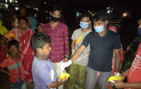 নারায়ণগঞ্জস্থান গ্রুপের নতুন উদ্যোগ 'এক বেলার আহার'