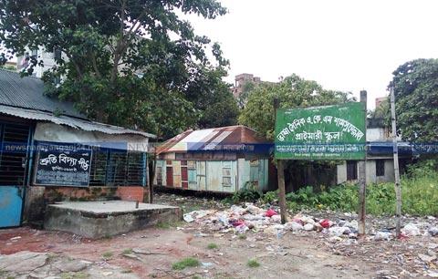 গঞ্জে আলী খালের উচ্ছেদের পর ফের প্রাণ পাবে সামসুজ্জোহা স্কুল