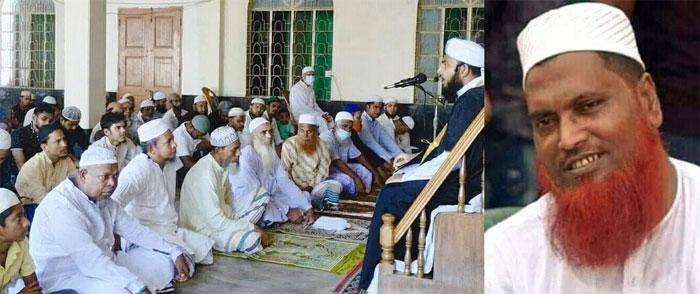 মসজিদের মিম্বরে বাবার আসনে ছেলে