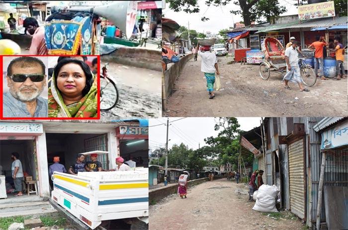 চাঁদমারীতে পার্ক করবে নাসিক, খাল দখলকারীরা সরে যাচ্ছে