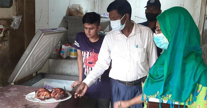 ভেজাল খাবার : জালকুড়িতে মীম এন্টারপ্রাইজকে জরিমানা